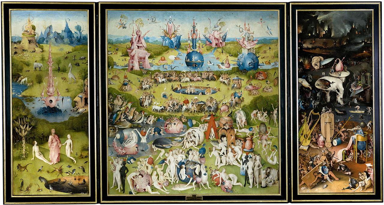een drieluik van Schilder Jeroen Bosch